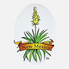 New Mexico (3) Oval Ornament