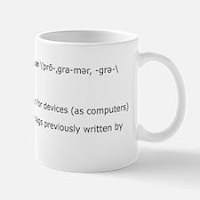 programmer Small Small Mug