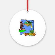 New Mexico Round Ornament