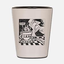 coffeeSpeaks_final Shot Glass