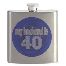 40-wife is bleu design Flask