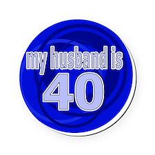 40-wife is bleu design Cork Coaster