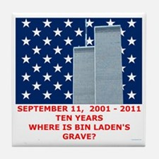 US_NAVAL_JACK_WHERE_IS_BIN_LADEN_With Tile Coaster