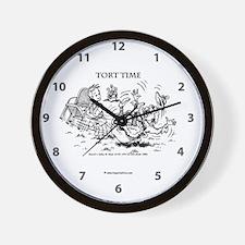 TortTime_13.24x13.2 Wall Clock