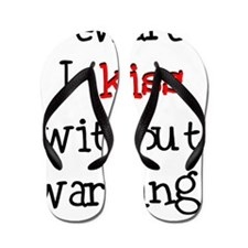 Kiss Without Warning Flip Flops