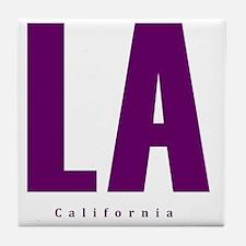 LA_10x10_apparel_L.A._Blue Tile Coaster