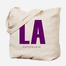 LA_10x10_apparel_L.A._Blue Tote Bag