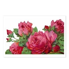 cut roses flip Postcards (Package of 8)