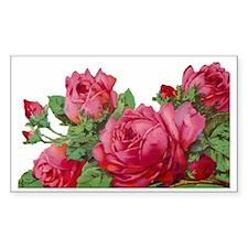 cut roses flip Decal
