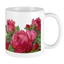 cut roses flip Mug