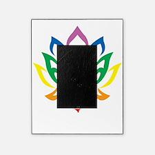 Autism-Lotus-Flower-blk Picture Frame