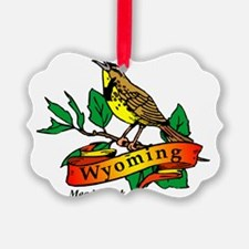 Wyoming (2) Ornament
