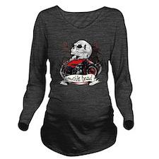Knuckle Head Long Sleeve Maternity T-Shirt