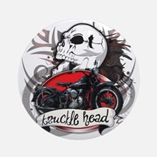 Knuckle Head Round Ornament