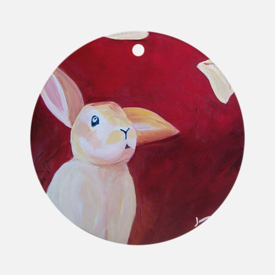 rabbit 1764 Round Ornament