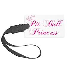 Pit Bull Princess Luggage Tag