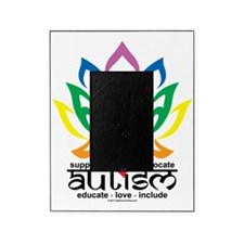 Autism-Lotus-Flower Picture Frame