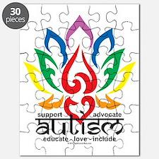 Autism-Lotus-Flower Puzzle