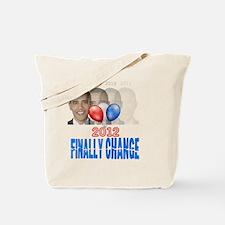 finally change obama gone Tote Bag