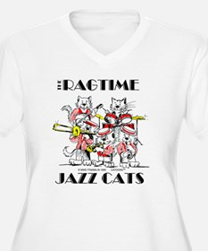 Jazz Cats in colo T-Shirt