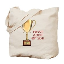 best-aunt-of-2011 Tote Bag