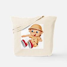 Safari Kid (Front) Tote Bag