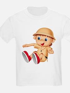 Safari Kid Kids T-Shirt