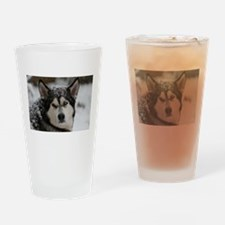 Snow Paws Drinking Glass
