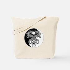 Yin Yang Dragons 1 Tote Bag