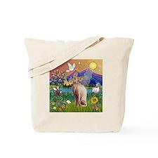 Fantasy Land Sphynx Cat Tote Bag