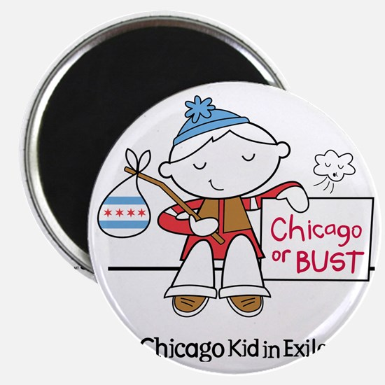 Chicago Kid In Exile (boy) Magnet