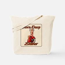 Horn_Dawg_Logo_girl_ALL_DONE Tote Bag