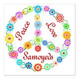Samoyed Car Magnets