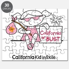California Kid In Exile (girl) Puzzle