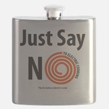 Say-No-To-Electric-Square Flask