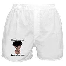 Public Restroom Etiquette - Boxer Shorts