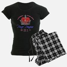 Heart  Crown P and P 1 Pajamas