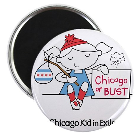 Chicago Kid In Exile (girl) Magnet