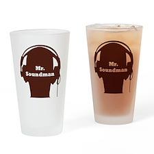 SoundManBigRed Drinking Glass