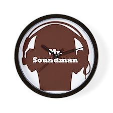 SoundManBigRed Wall Clock