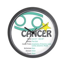 cancerdetail Wall Clock