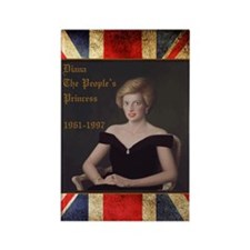Diana_the_peoples_Princess_52x62 Rectangle Magnet