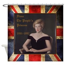 Diana_the_peoples_Princess_52x62 Shower Curtain