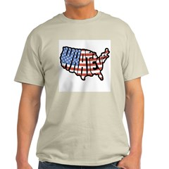 United States of Whatever Ash Grey T-Shirt