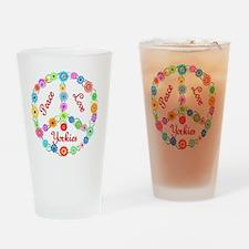 yorkie Drinking Glass