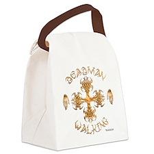 Deadman Walking Cross Canvas Lunch Bag