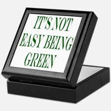 its not easy being green Keepsake Box