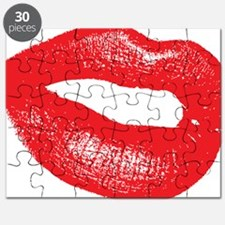 10 X 10 hignm red lips only Puzzle