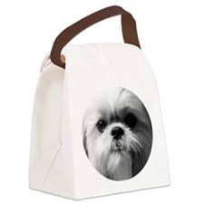 Shih Tzu Photo Canvas Lunch Bag