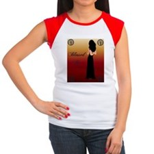 Blessed be 1 Women's Cap Sleeve T-Shirt